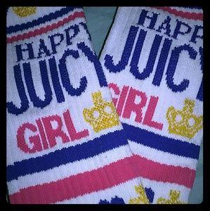 Juicy coture knee high socks